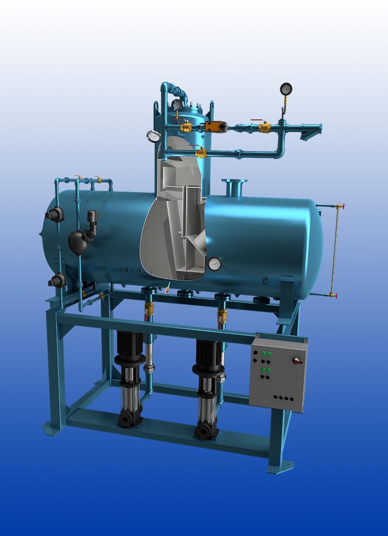 Premium Feedtank Solutions for premium boiler water quality.