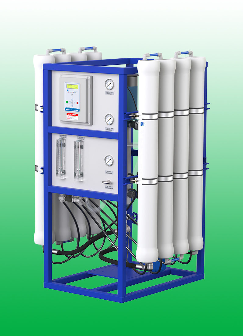 Keep your Miura boiler running at peak efficiency with our reverse osmosis systems.