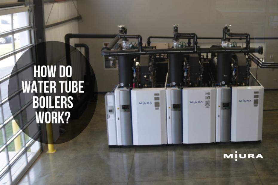 How Water Tube Type Steam Boilers Work