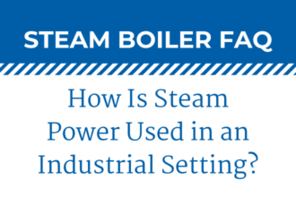 How Is Steam Power Used in an Industrial Setting?