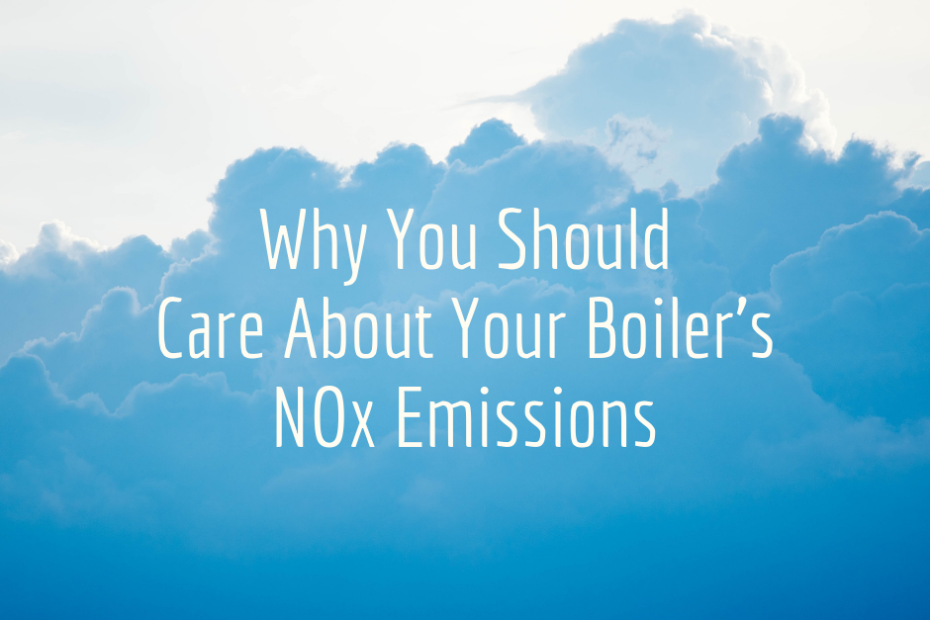 Why You Should Care About Your Boiler's NOx Emissions