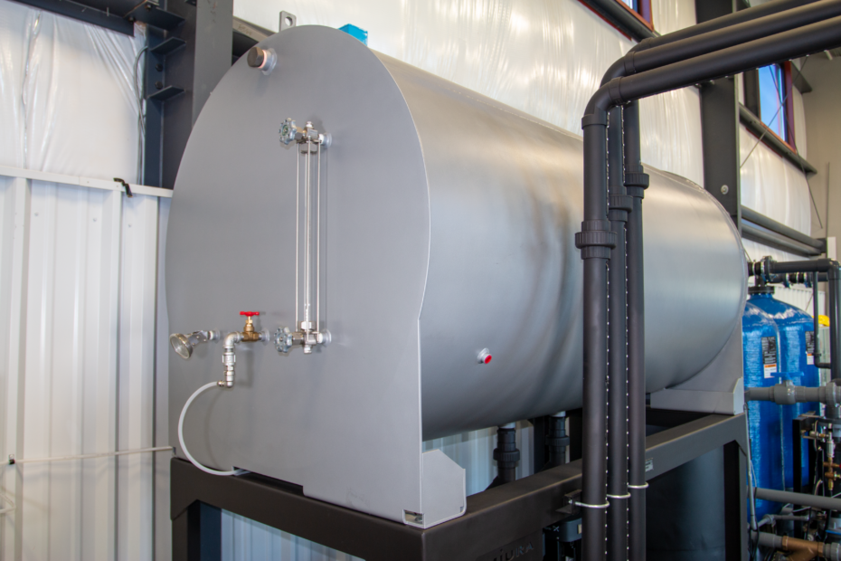 Treating Industrial Steam Boiler Feedwater