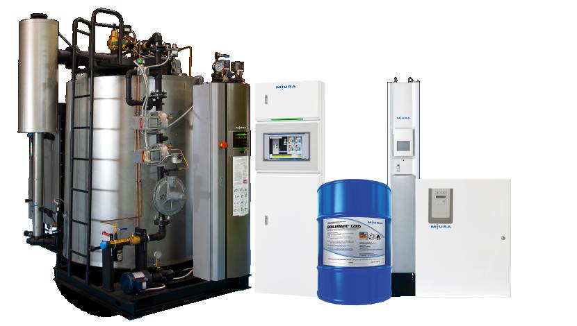 Miura America Modular Low Nox Steam Boiler Manufacturer